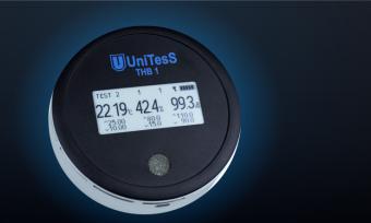 Лабораторный термогигрометр THB1